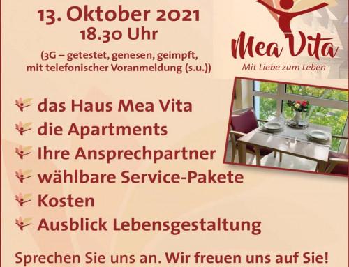 SERVICE WOHNEN IN RIETBERG / INFOABEND AM 13.10.2021 ab 18:30 Uhr
